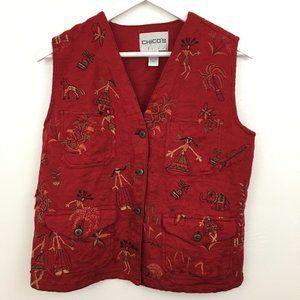 3/$22 Chico's Vest